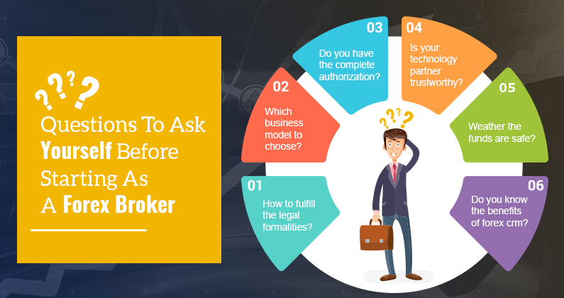 Questions To Ask Yourself Before Starting As A Forex Broker